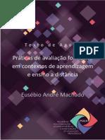 Texto de Apoio # Práticas de avaliação formativa em contextos de aprendizagem e ensino a distancia