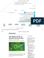 IEEE makes COVID-19 related articles free