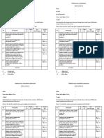 Formulir Self Assessment to Print