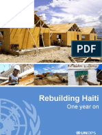 UNOPS - Rebuilding Haiti - One Year On