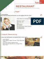 Deutsch Für Köche Und Kellner - Teil 7 - Im Restaurant - Nach Info Fragen - Ankunft, Reservierung