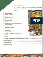 Deutsch für Köche und Kellner - Teil 6-S180-Warme und kalte Vorspeisen