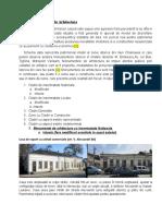 Memoriu Schema Monuentelor de Arhitectura