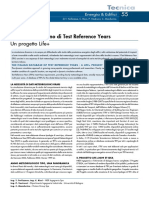 Il database italiano di Test Reference Years