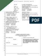 20-09-15 Jay Srinivasan Declaration ISO Apple's Opposition to Epic Games' PI Motion