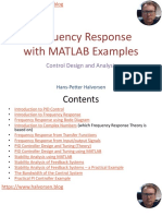 Frequency Response with MATLAB Examples