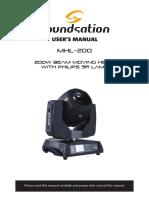 [ENG] MHL-200 User Manual