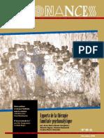 APPORTS DE LA THERAPIE FAMILIALE PSYCHANALYTIQUE - RESONANCES 1996 (83 pages - 3,5 Mo)