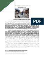Haiti Earthquake.docx