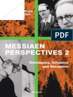 Messiaen Perspectives 2 Techniques, Influence and Reception