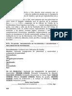 FILIACIÓN.IMPUGNACIÓN  DE  PATERNIDAD  Y  MATERNIDAD  YRECLAMACIÓN DE PATERNIDAD