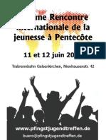 15ième Rencontreinternationale de lajeunesse à Pentecôte 2011