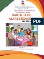CARTILLA ALFABETIZACION - El Salvador