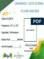 Placas ID Área - Superadesing
