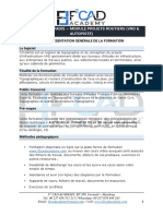 FORMATION COVADIS PROJETS ROUTIERS (VRD & AUTOPISTE)