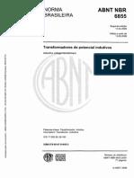 NBR 06855 - 2009 - Transformador de Potencial Indutivo CANCELADA
