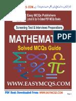 Mathematics MCQs PDF Book (EasyMCQs.Com).pdf