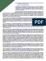 D.L. 1153 Compensaciones personal salud
