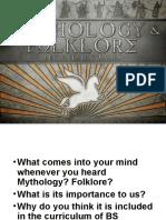 Mythology and Folklore Introduction