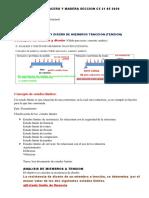 CLASE 2 INCLUYE PROBLEMAS DISEÑO EN ACERO Y MADERA SECCION C5 21 05 2020