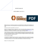BIMBO Reporte Anual 2008 DEFINITIVO