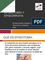 EPISIOTOMÍA Y EPISIORRFIA