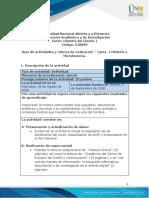 Guía de actividades y rúbrica de evaluación -Tarea 1- Historia y Microhistoria
