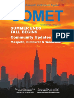 Comet Fall 2020 newsletter