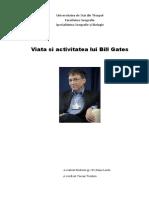 Viata si activitatea lui Bill Gates(word)