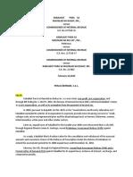 Tax Cases Kabalikat Para Sa Maunlad Na Buhay, Inc.,- Versus - Commissioner of Internal Revenue and Association of International Shipping Lines v. Sec. of Finance g.r. No. 222239, January 15, 2020