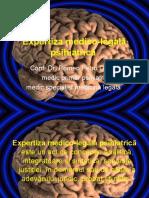 Expertiza medico-legala psihiatrica