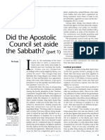 [CROSBY Tim] Does the Apostolic Council set aside the Sabbath, part 1 (Ministry, 2005-02).pdf