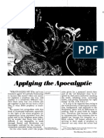 [STAFF] Applying the Apocalyptic (Ministry, 1976-11)