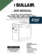1800 - 2200 - 3000 User manual