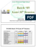 BATCH 89 REGISTRATION FINAL COUNTING