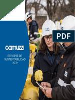 Reporte de Sustentabilidad Camuzzi 2019