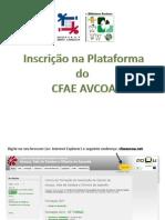 Registo/Inscrição no CFAE AVCOA
