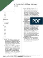 Cumulative Skills Test Units 1-10A Answer Key + Audio Script.doc