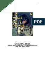 EM MEMÓRIA DE MIM
