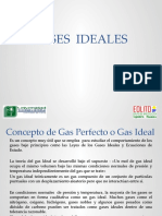Tema 4. Gases Ideales