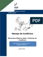Manejo de conflicto