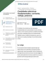 modelo electricidad