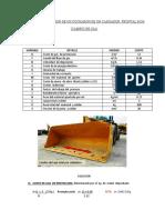 COSTO DE REPARACION DE UN CUCHARON DE UN CARGADOR  FRONTAL 962H