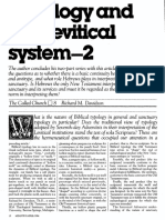 [DAVIDSON Richard M.] Typology and the Levitical system - Part 2 (Ministry, 1984-04)