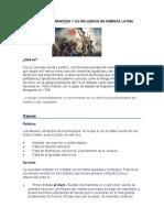 3. REVOLUCIÓN FRANCESA Y SU INFLUENCIA EN AMÉRICA LATINA