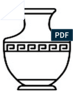 vasos gregos desenho