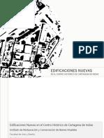EDIFICACIONES NUEVAS EN EL CENTRO HISTORICO DE CARTAGENA DE INDIAS