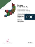 Lengua y Literatura 3 Eso Santillana Avanza 304 pags (editado y arreglado).pdf