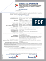 Prospecto Programa Bonos Bancolombia 2018  (D)