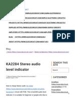 KA2284_Stereo_audio_level_indicator_circuit__ElecCircuit.com